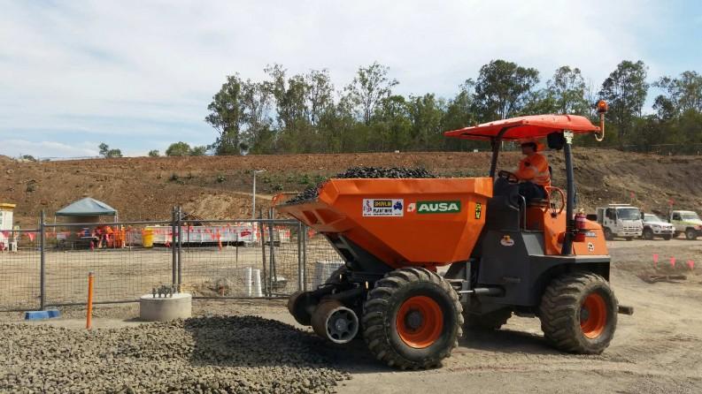 10 ton hi-rail dumper