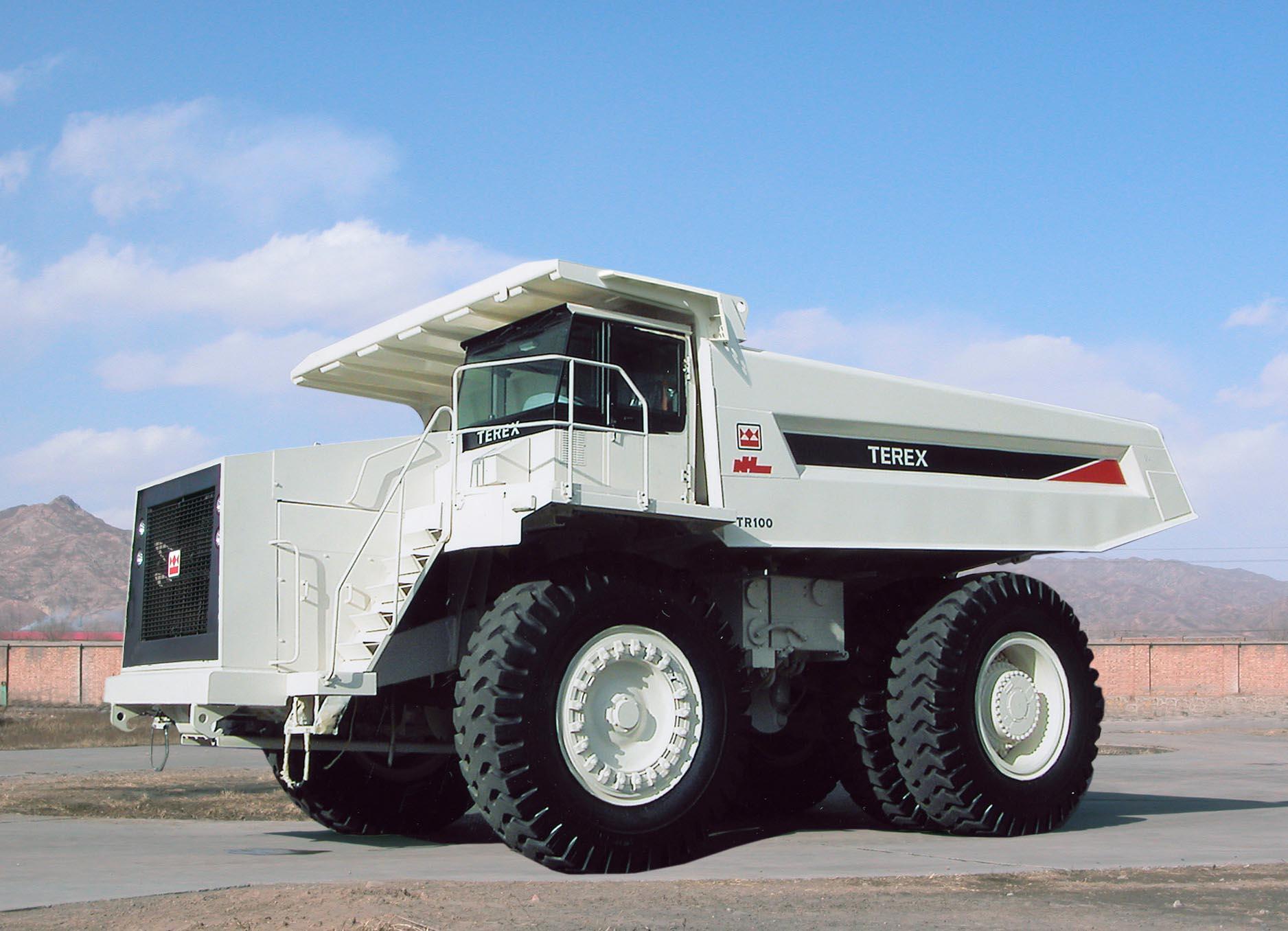 TR100 Dump Truck - Shovlin Plant Hire Australia